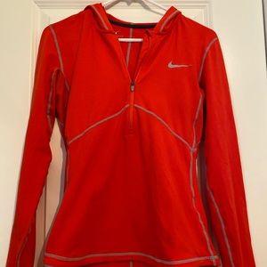 Nike quarter zip long sleeve size S
